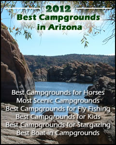 2012 Best Campgrounds in Arizona