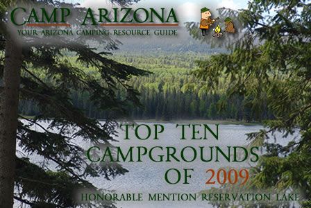 Top Ten Campgrounds in Arizona 2009