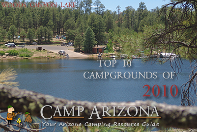 Top Ten Arizona Campgrounds 2010