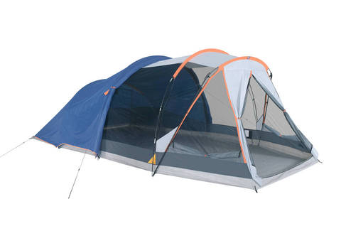 Just remember that the zipper is for the back of the tent. Once you get the fly attached you are ready to use it.  sc 1 st  C& Arizona & Ozark Trail 10 Person Dome Tent Review